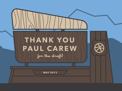 Thank You Carew