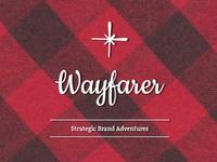 Wayfarer - logo concept
