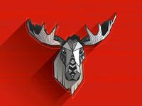 2nd moose in progress