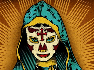 Our Lady Of Lucha Libre