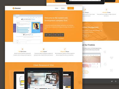 New Website ethemes new layout design html update clean minimal animation modern
