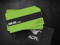 Business card render