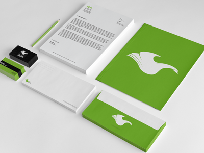 Library Rebranding Project identity package library logo redesign rebrand concept bird identity package letterhead business business card envelope public project design mockup mock 3d