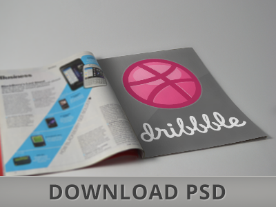 DOWNLOAD Magazine Mockup PSD FREE mockup mock up magazine newspaper paper mock design download free