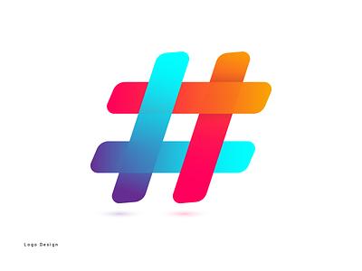 Hash index logo design illustration vector logo graphic design design branding