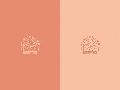Mikkeller San Diego icon typography beer lifestyle color graphic branding illustration design logo