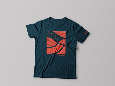 "Highline ""Out of Office"" Blue T-Shirt"