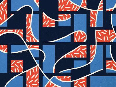 Brick Lane pattern design label art pattern art hand drawn graphic drawing branding illustration design
