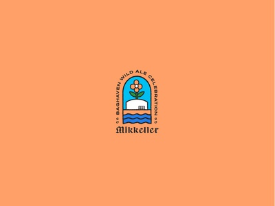 Mikkeller BWAC festival beer lifestyle drawing graphic typography vector illustration design branding draft illustraton wip
