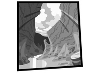 Canyon in Perspective 2