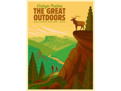 Great Outdoors: Finished Poster
