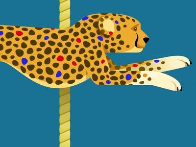 Carousel Cheetah