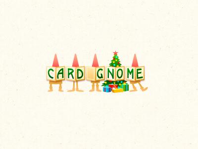 Christmas Logo logo design christmas tree gifts gnome cards