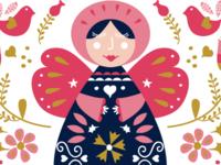Anges De Christmas Pattern