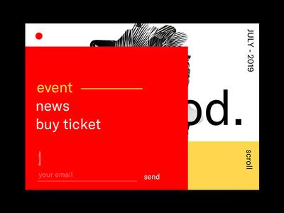 Dear God. website brand and identity illustration