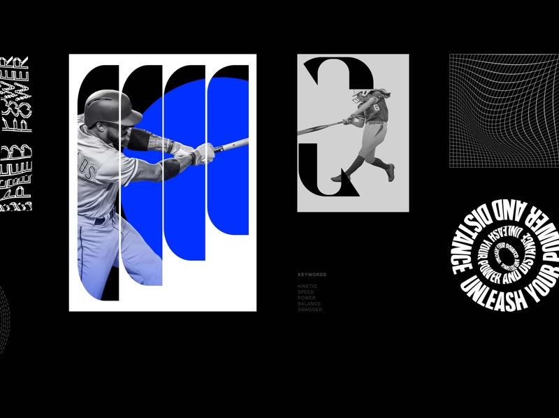 Easton® visual concept key visual easton bat baseball