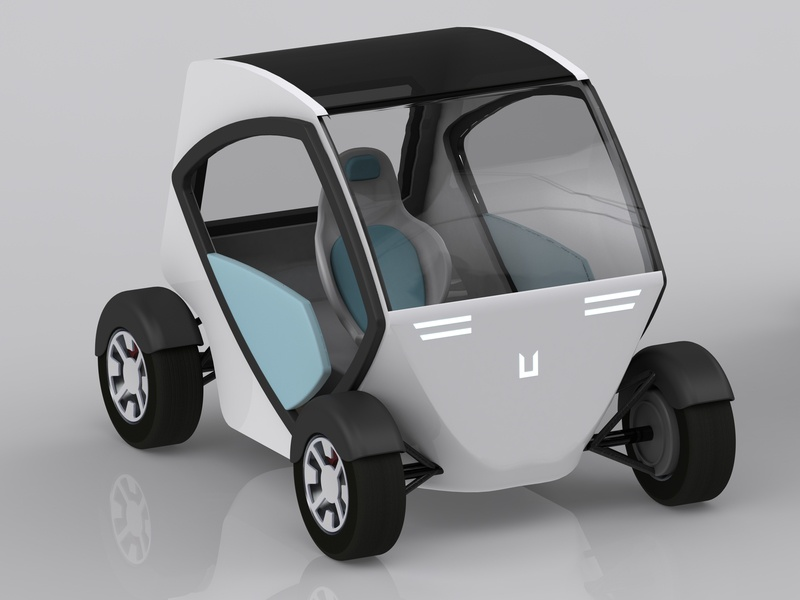Smart City Car Utopia By Saulė On Dribbble