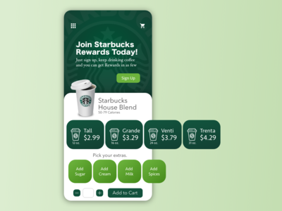 Starbucks Coffee Application IOS Android