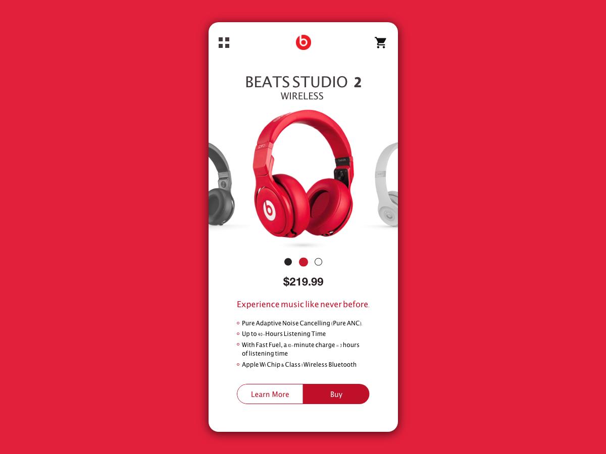 Beats Headphones by Jovin Flores on Dribbble