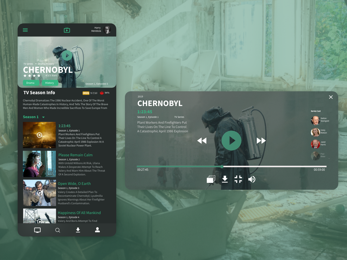 Watch Movies, TV Series, etc  with Player by Jovin Flores on