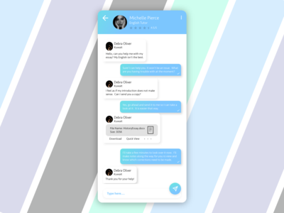 Tutor Messenger Artboard