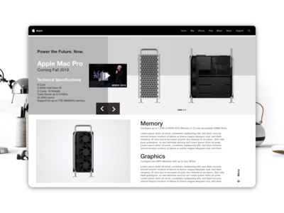Apple Website Mac Pro 2019