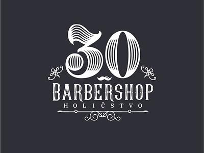 BarberShop logo barbershop barber design branding logo