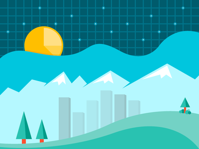 A City on the Grid data charts graphs city stars mailchimp survey email statistics stats