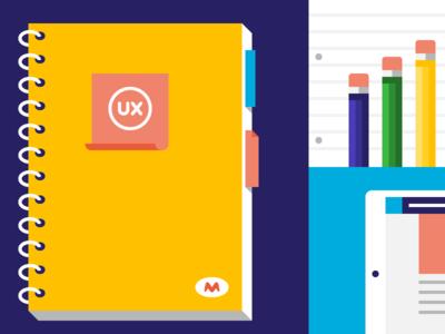 Notebooks and nachos ux notebook pencils ipad nachos
