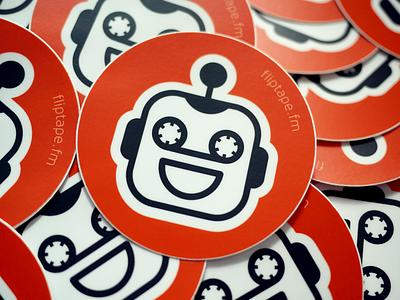 Fliptape Stickers stickers ios fliptape spotify iphone app promo free filip stickermule