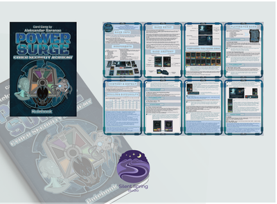 The Rulebook - Cover design, pages game design book covers cover design cover documentation document document design pdf design pdf rulebook design rulebook brand and identity card game tabletop design card design graphic  design logo design logo