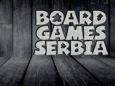 Logo Board Games Serbia logo idea brand and identity logo design branding logo design logo