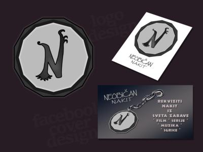 Logo and social media cover design
