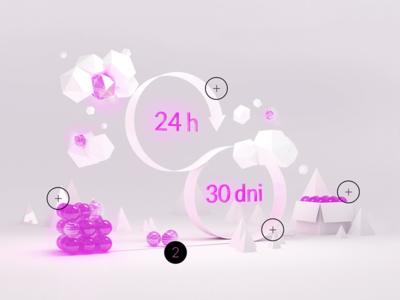 The Scrum framework 3d scrum diagram framework clouds purple blender arrow process render light low poly