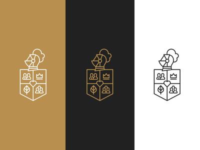 Logo logo blacwhite brown black branding logotype simple