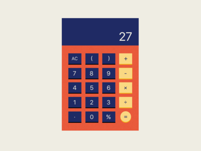 Dailly UI - 004 Calculator