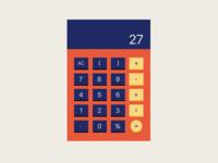 Dailly UI - 004 Calculator