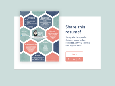 Daily UI - 010 Social Share