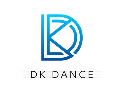 """Logo """"Dk Dance"""""""