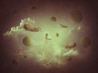 """Collage """" Children's dreams"""""""