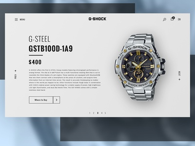 G-SHOCK. Product card