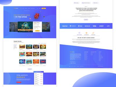 "Website ""PlayCasino"""