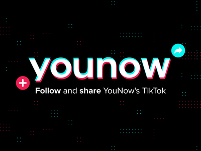 Banner for YouNow graphic social app branding design