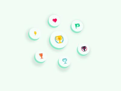 Achievement badges