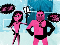 Digital Superheroes