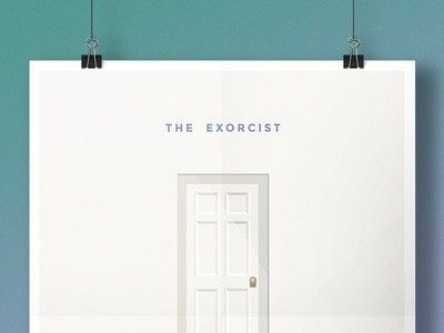 The Exorcist - Minimal Poster