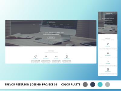 Daily Web/UI Design | 08