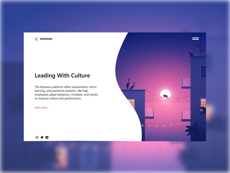 Nuevanu Concept Design ux design ui design branding design illustration minimalist concept minimal website web design