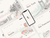 Travel Website Concept Redesign
