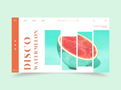 Disco Watermelon